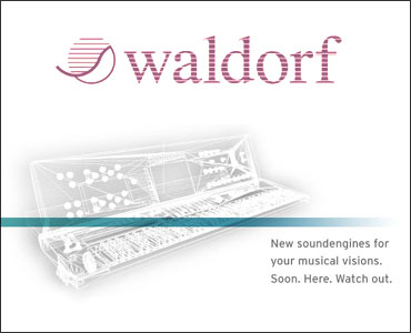 Waldorf New Synth