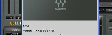 WAVES V7 に疲れ果てる