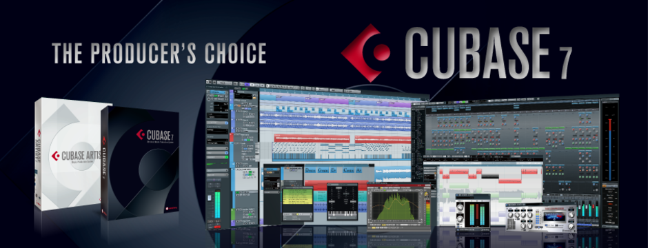 Cubase7は遠隔地の知人と一緒にレコーディング出来るらしい