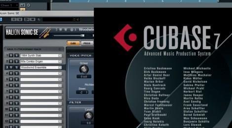 【追記有】Cubase7でHALion Sonic SEの音色を表示する方法