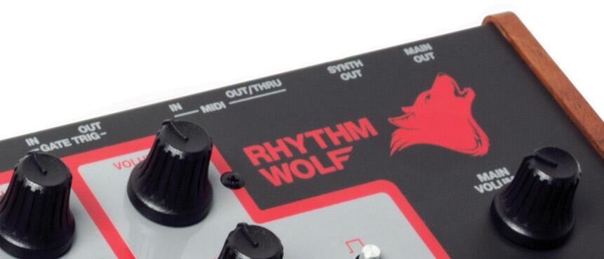 Rhythm Wolfのパラアウトは2つか