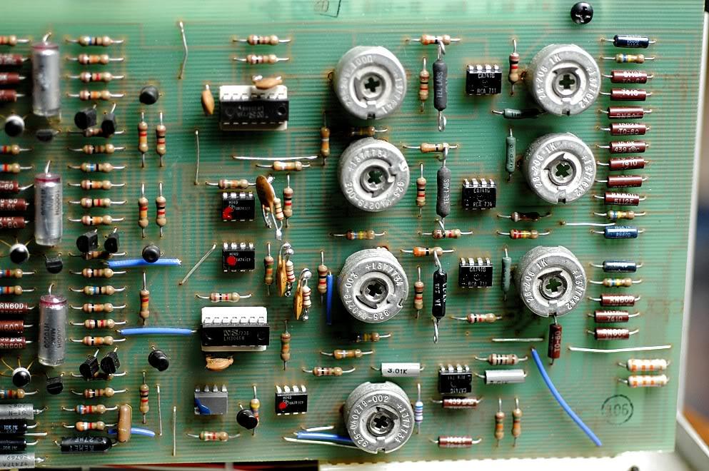 MiniMoog Oscillator Board