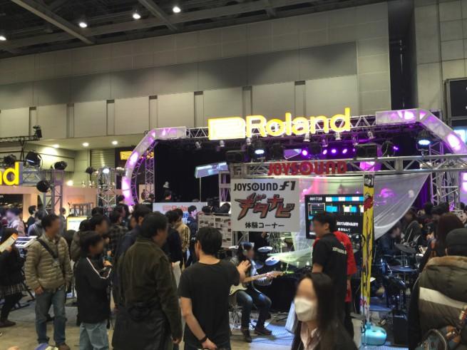 楽器フェア2014 Roland +BOSS