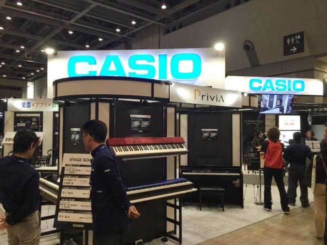 楽器フェア2014 CASIO