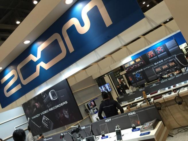 楽器フェア2014 ZOOM