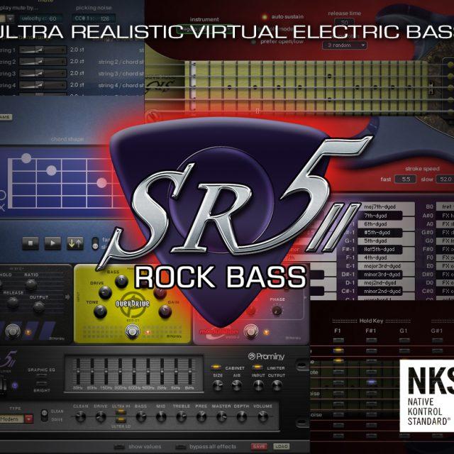 Prominy「SR5 Rock Bass 2」が3月15日にリリース