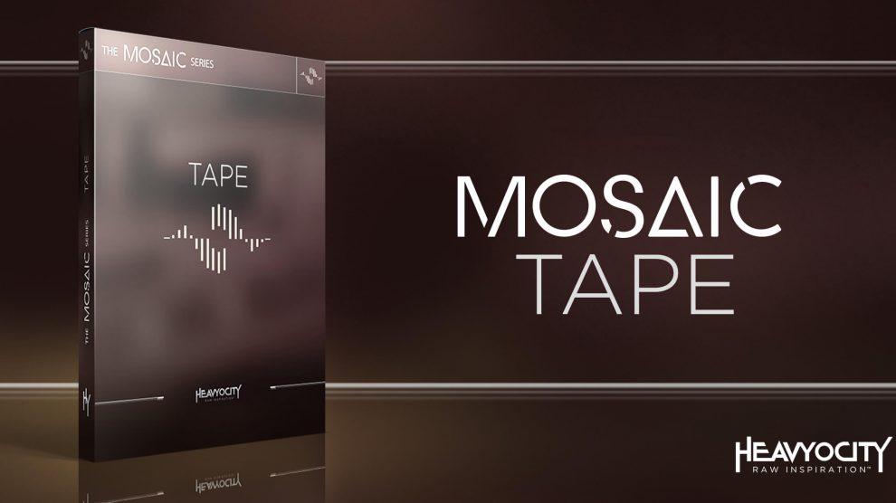 Heavyocity Mosaic Tapeがイントロ価格99ドル!(VCash £3.83付)これメッチャ良いです。